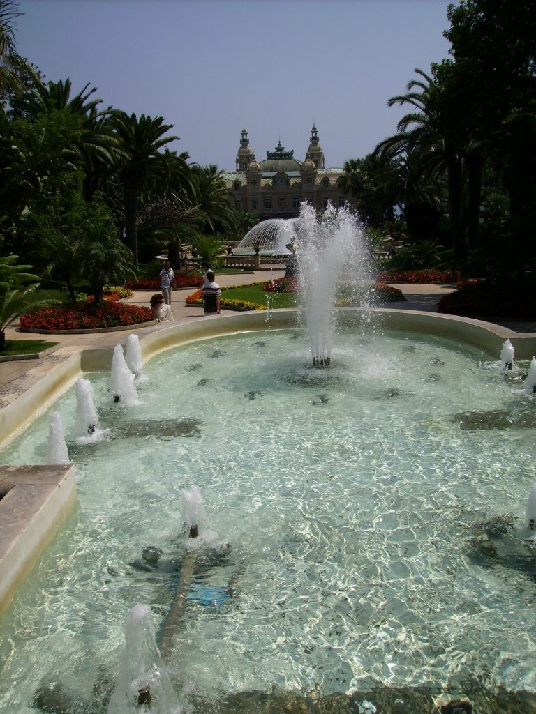 Jardines del Casino de Montecarlo.