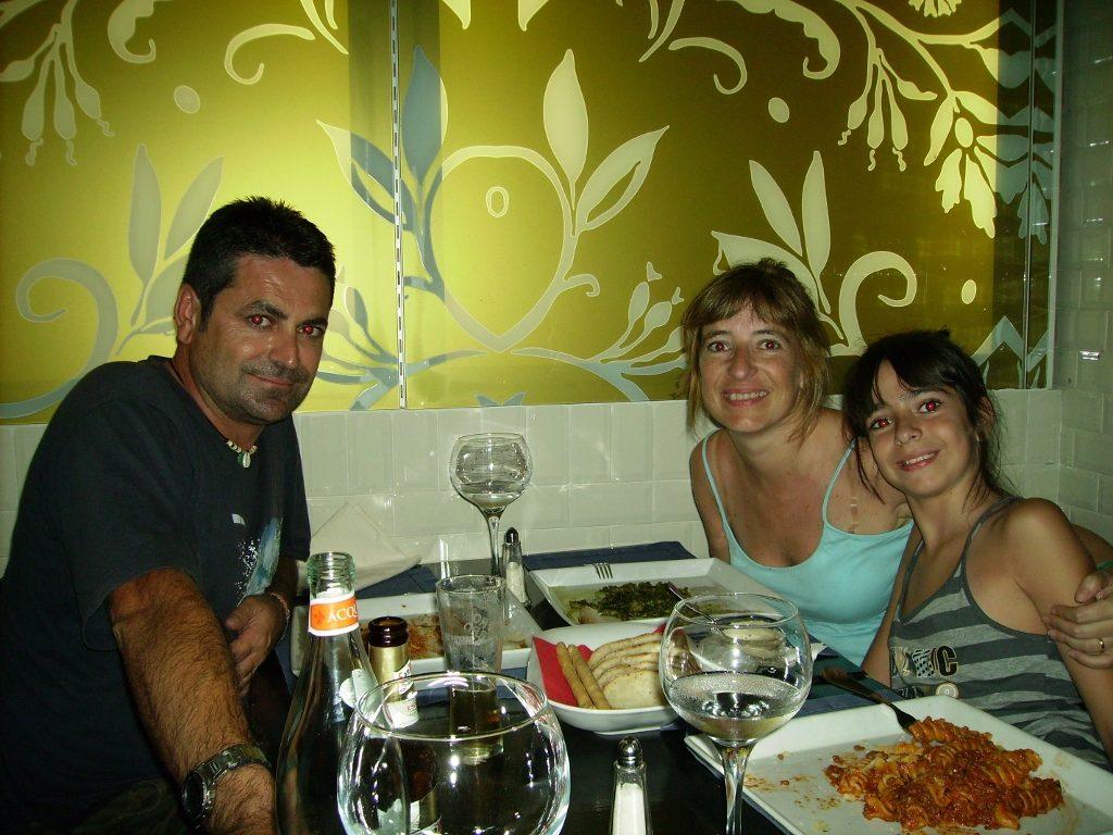 Restaurante en Milán.