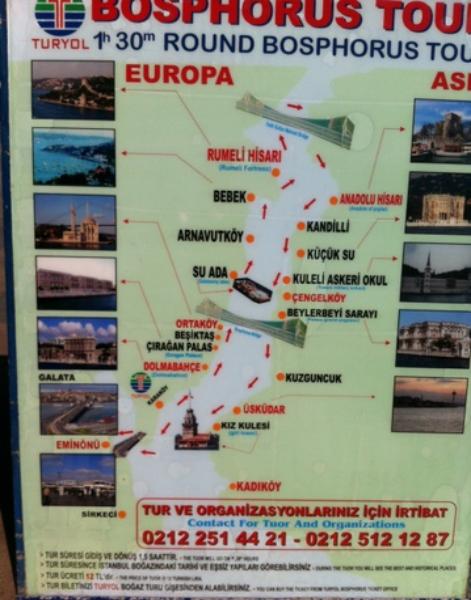 Mapa crucero Turyol.