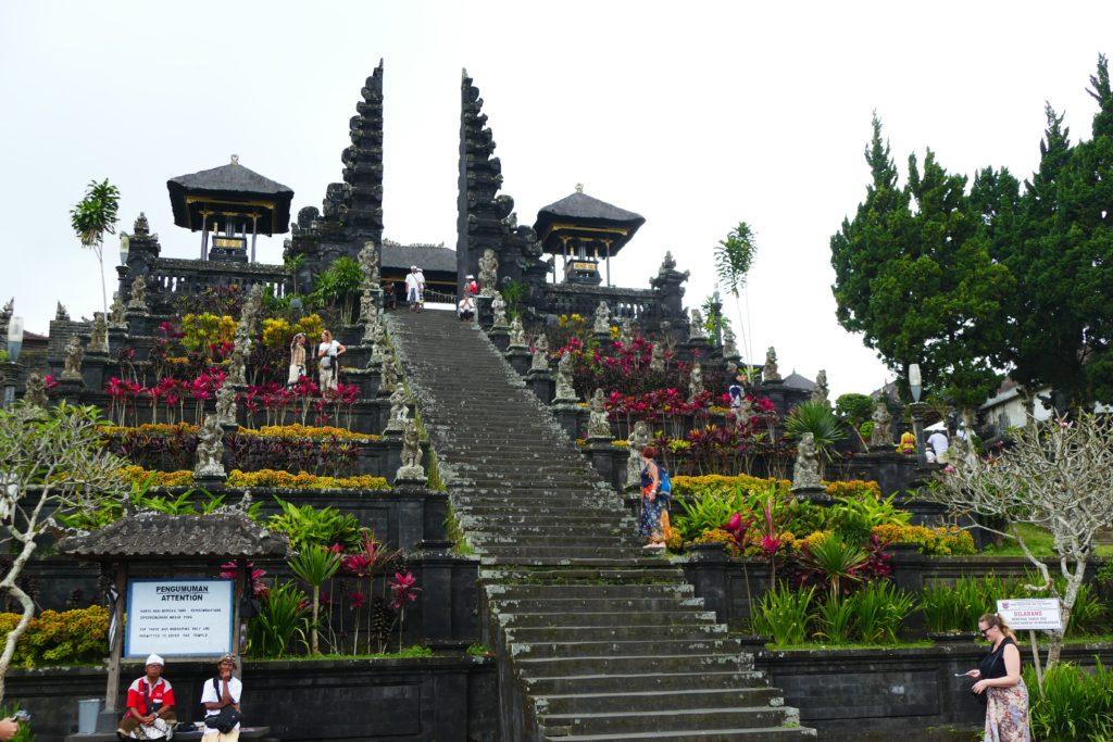 Templo Pura Besakih o Templo Madre, Bali, Indonesia.