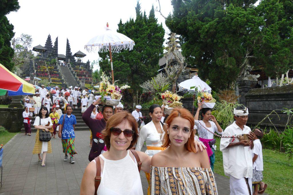 Templo Besakih, Bali, Indonesia.