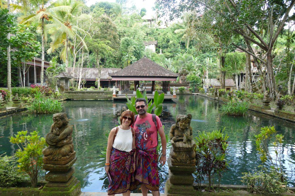 Templo Gunung Kawi Sebatu, Bali, Indonesia.