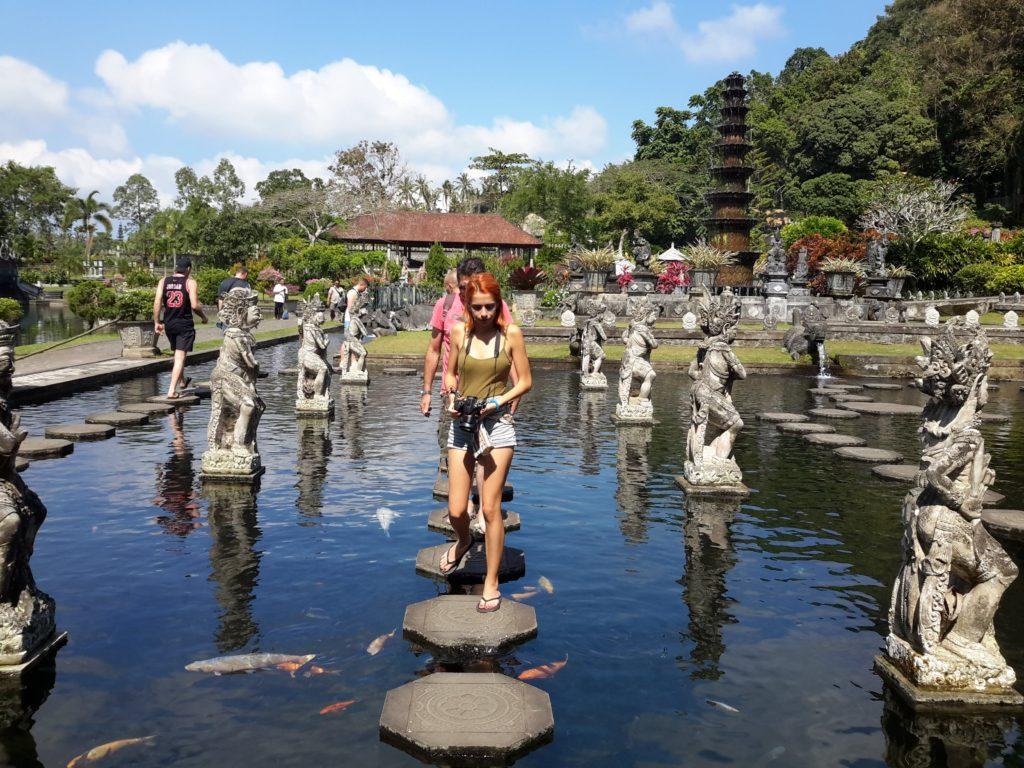Templo Tirta Gangga, Bali, Indonesia.