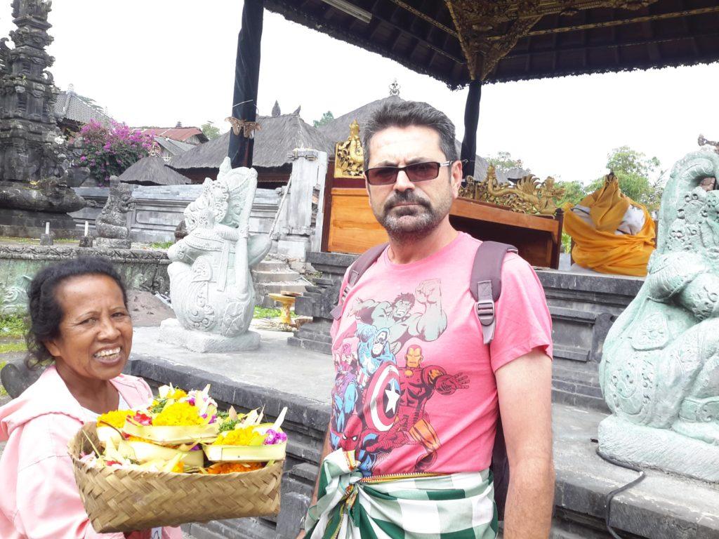 Templo Pura Besakih, Bali, Indonesia.