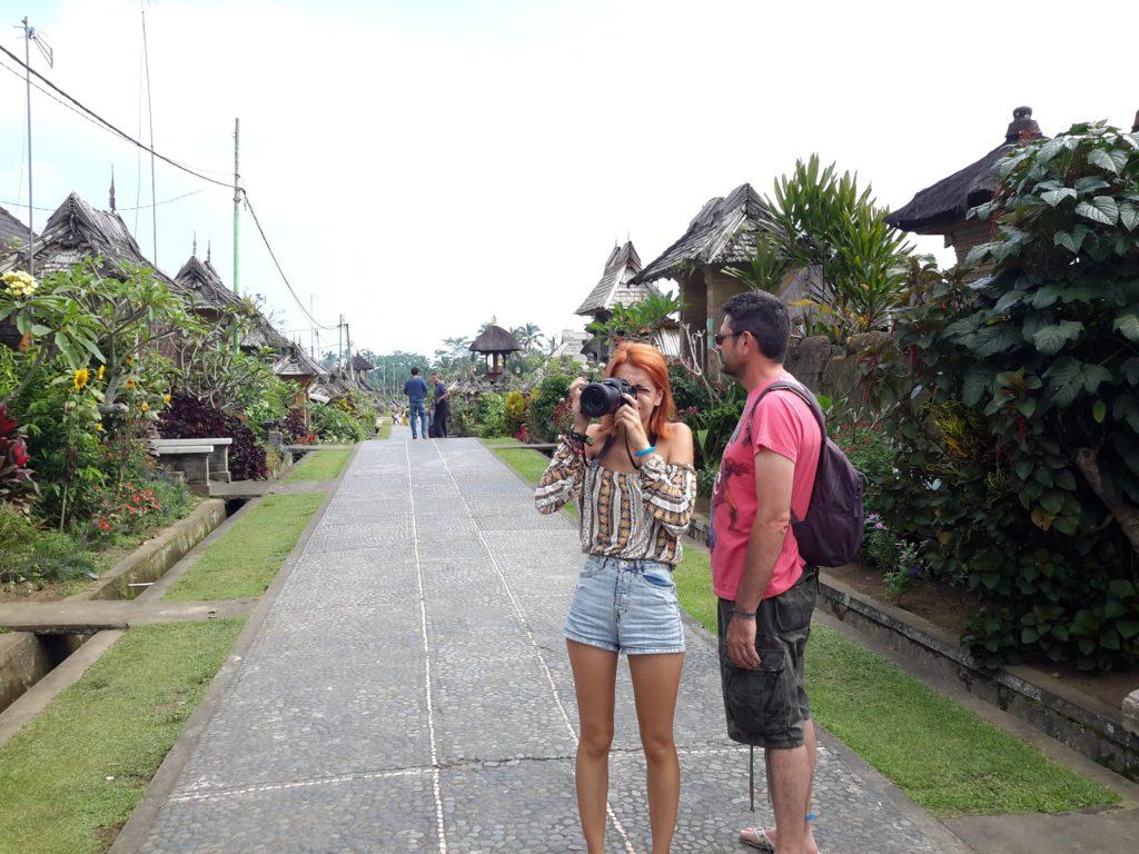 Aldea de Penglipuran, Bali, Indonesia.