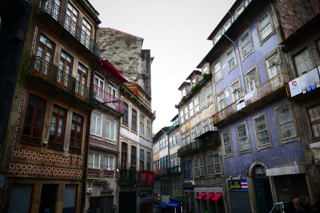 Callecitas en Oporto.