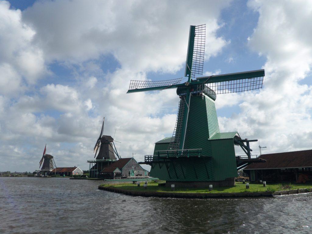 Molinos en Zaanse Schans, Holanda.