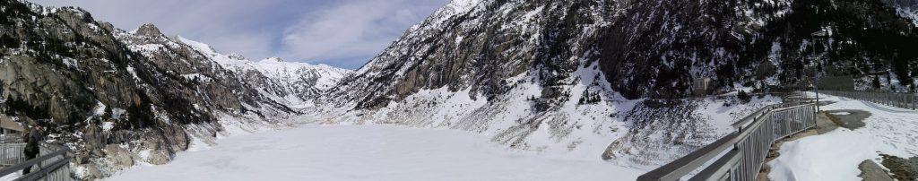 Presa de Cavallers, Parque Nacional de Aigüestortes.