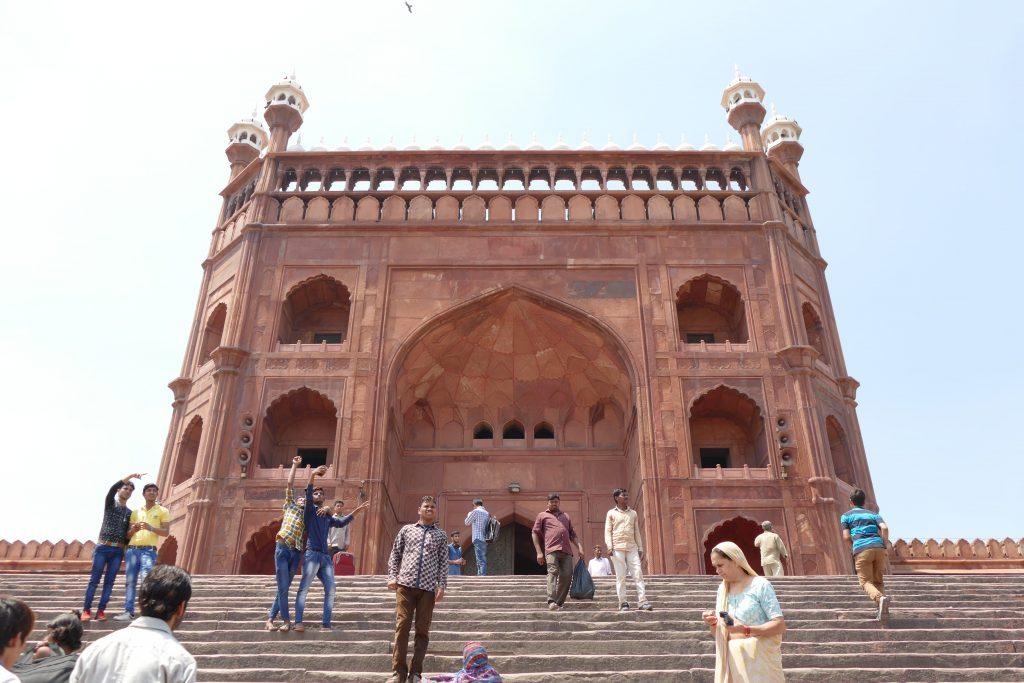 Mezquita Jama Masjid, Delhi.