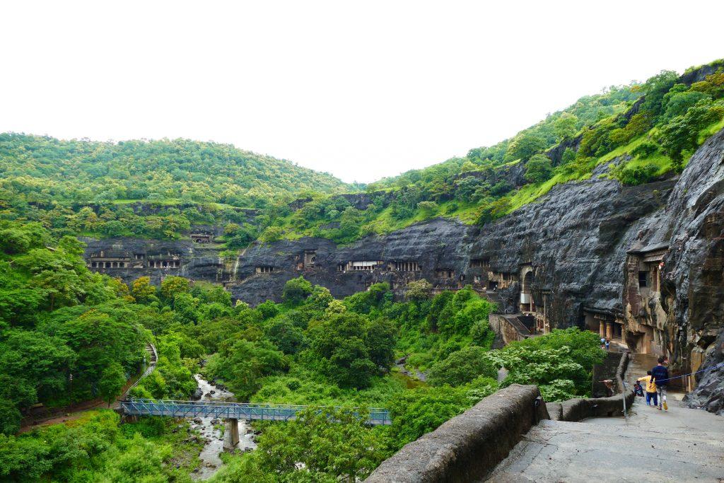Cuevas de Ajanta, India.