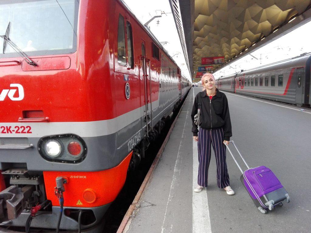 Tren de San Petersburgo a Tallin