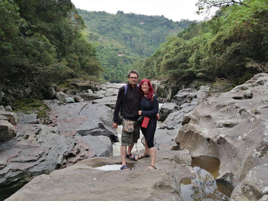 Estrecho de Santa Magdalena, en San Agustín, Colombia.