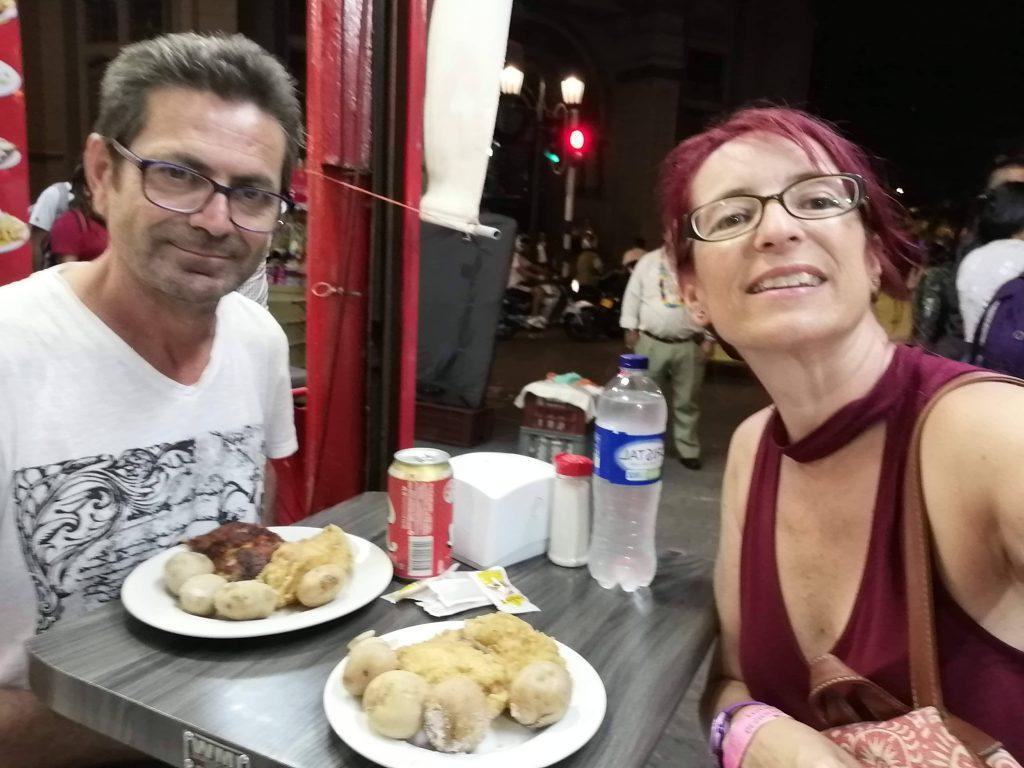 Cena en Medellín...