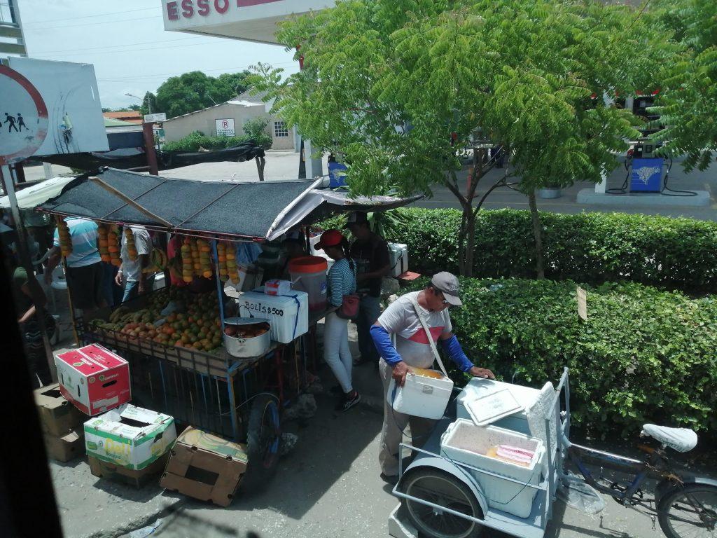 Ruta en bus de Santa Marta a Cartagena.