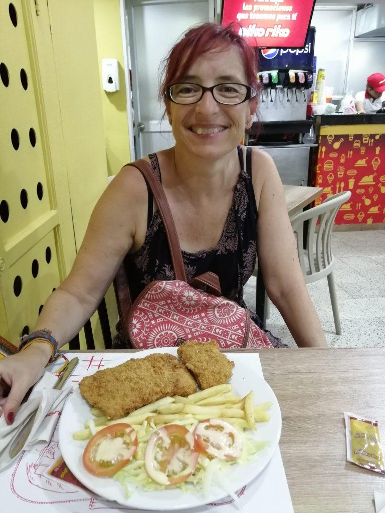 Cena en Cartagena.