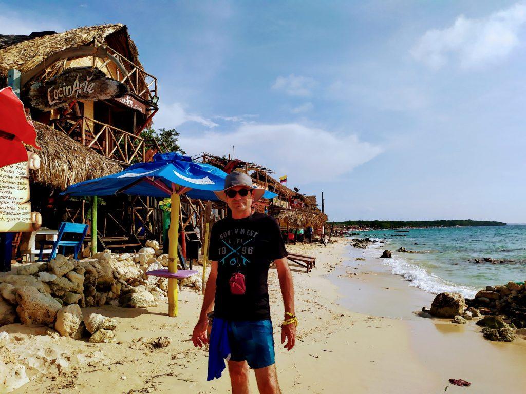 Tour en playa Barú en Cartagena, Colombia.