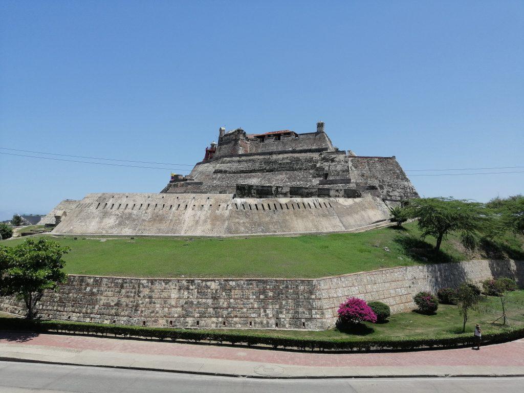 Castillo de San Felipe en Cartagena, Colombia.