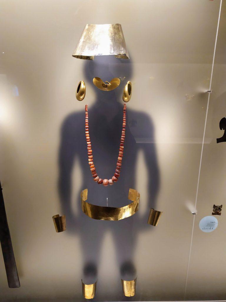 Museo del Oro en Bogotá, Colombia.