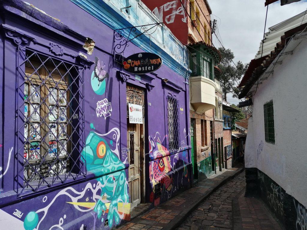 La Candelaria en Bogotá, Colombia.