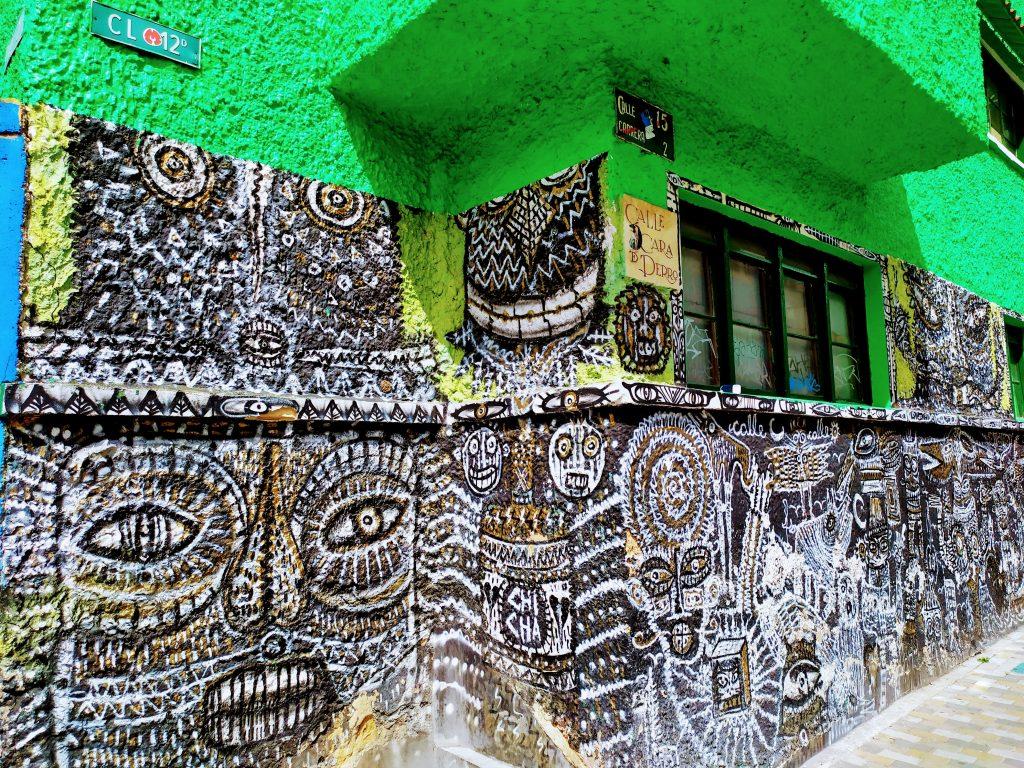 Barrio de La Candelaria en Bogotá, Colombia.